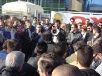 Απεργιακή κινητοποίηση στα Κεντρικά Γραφεία ΕΛΠΕ 12/4/2011 – 3