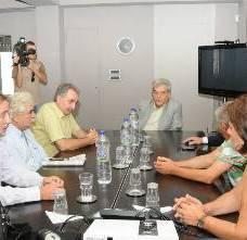 Παρέμβαση ΠΑΜΕ - ΣΕΕΝΑΒΕΚ στη ΔΕΗ για το χαράτσι στα ακίνητα 20/9/2011