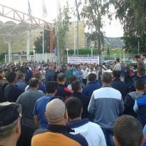 Συνέλευση εργαζομένων στα διυλιστήρια Ασπροπύργου για το εργοδοτικό έγκλημα