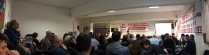 Εκδήλωση στα γραφεία του σωματείου με θέμα: «Εργατική Πρωτομαγιά 2017. Με τους εργαζόμενους όλων των χωρών για έναν κόσμο χωρίς εκμετάλλευση, πολέμους, προσφυγιά»